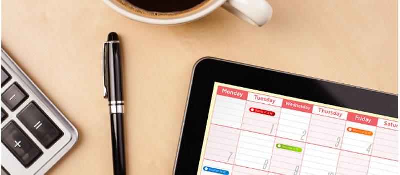Como organizar a agenda do seu consultório para ganhar tempo